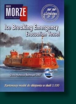 Nasze MORZE Ice Breaking Emergency Evacuation Vessel